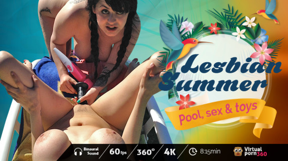 Lesbian Summer: Pool, Sex & Toys