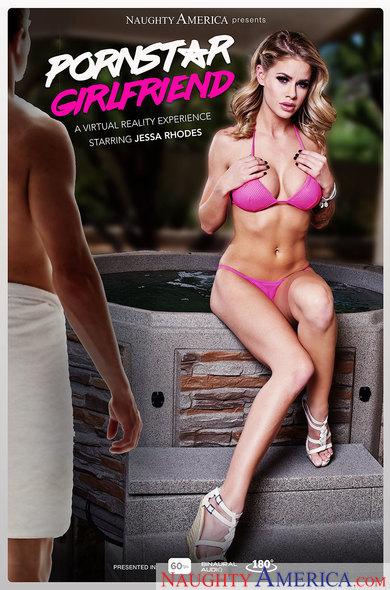 Jessa Rhodes In Pornstar Girlfriend VR Porn