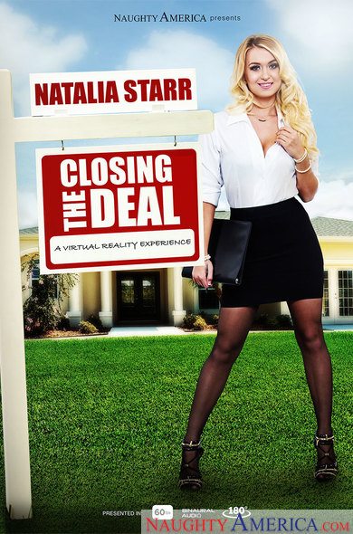 Natalia Starr In Closing the Deal VR Porn