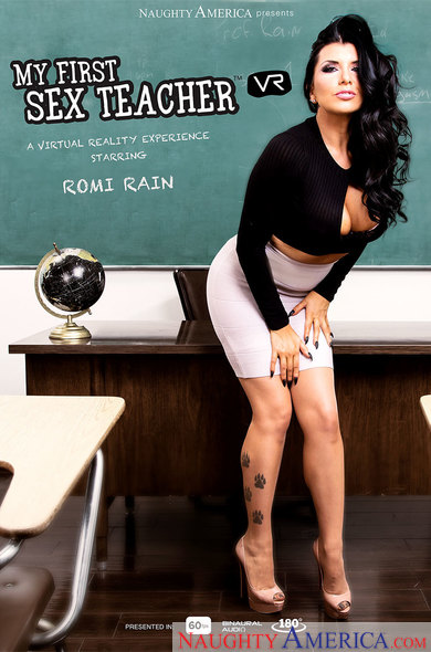 Romi Rain In My First Sex Teacher
