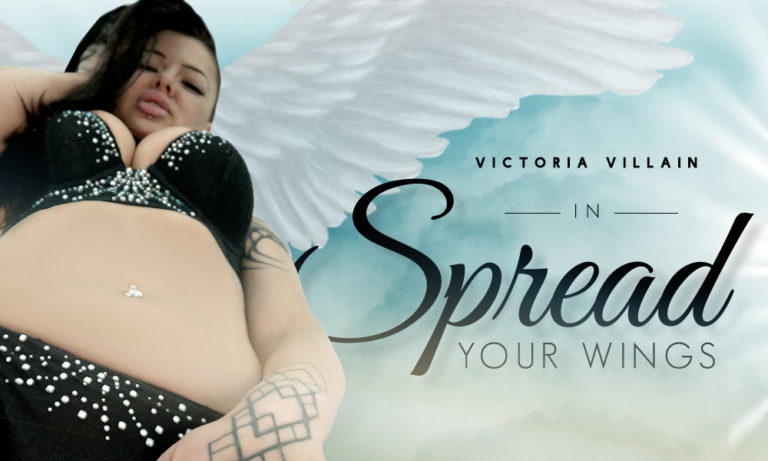 Spread Your Wings – Victoria Villain's 1st Time On Camera!