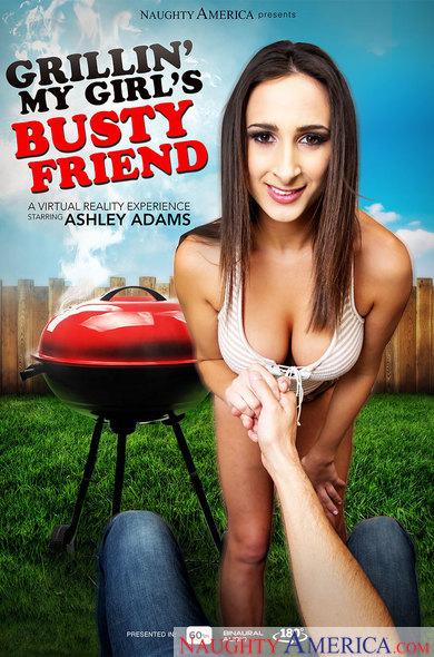Ashley Adams in Grillin' My Girl's Busty Friend