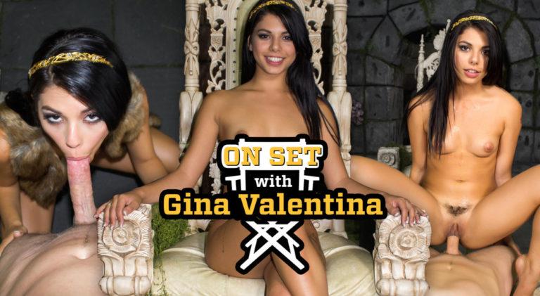 On Set with Gina Valentina