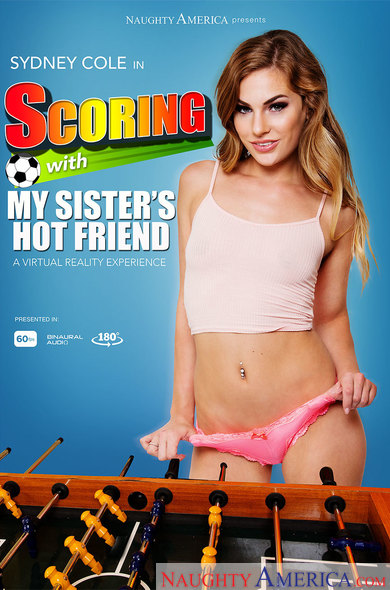Sydney Cole in Scoring with My Sister's Hot Friend VR Porn