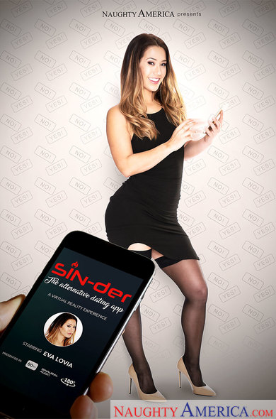 Eva Lovia in SIN-der – the alternative dating app